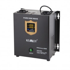 UPS centrale termice sinus pur Kemot, 300 W, Alb