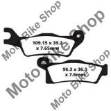 MBS Placute frana EBC FA617TT CAN AM (BRP) Outlander 800 R EFI 4X4 Max LTD 2012, fata DX, Cod Produs: 17200257PE