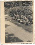 C238 Fotografie ofiteri romani aviatie al doilea razboi mondial poza veche