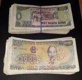 A1897 Vietnam 1000 dong 1988 100 BUCATI