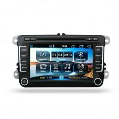 Navigatie dedicata cu GPS , Radio, Handsfree , DVD Ipod pentru Skoda Octavia 2 Fabia 2 Superb VW Golf 5 6 Passat B6 B7 Jetta cu sistem Android 4.3 Kf