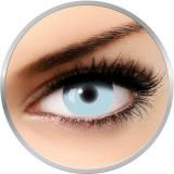 Fantaisie UV Glow White - lentile de contact pentru Halloween anuale - 365 purtari (2 lentile/cutie)