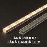 Ecran transparent pt. profil LED 41014A2, 2m