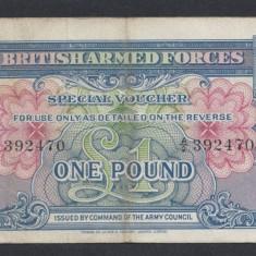 A4796 Anglia UK 1 pound ND 1946