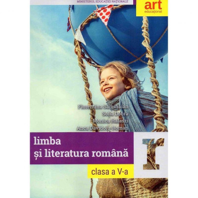 Limba si literatura romana manual clasa a V-a., autor Sofia Dobra foto