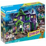 Set de Constructie Scooby-Doo si Casa Misterelor, Playmobil