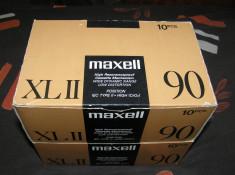 Casetă audio Maxell XL II foto