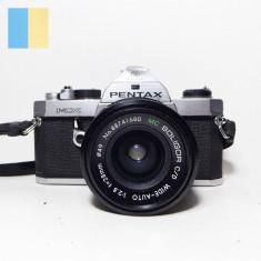 Pentax MX cu obiectiv MC Soligor C/D Wide-Auto 28mm f/2.8