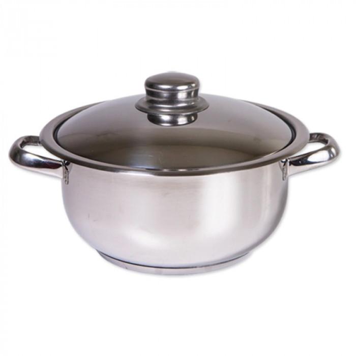 Oala inox Cocinera Zilan, 10 l, nr 28, capac inox