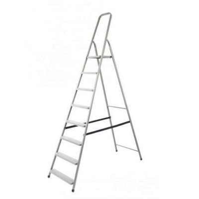 Scara aluminiu pliabila, 8 trepte, platforma, 125kg, Strend Pro D8 Mania Tools foto