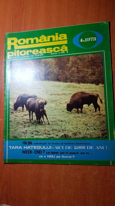 romania pitoreasca aprilie 1973-art. si foto tara hategului si orasul brasov
