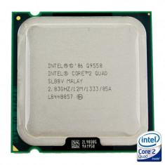 PROMOTIE cu GARANTIE! Procesor Intel Core 2 Quad Q9550 2.83GHz LGA775 cache 12MB, 4