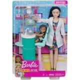 Barbie Cariere Set Mobilier Cu Papusa Doctor Stomatolog, Mattel