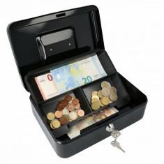 Casetă Bani EUROPE 250 negru