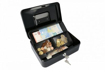 Casetă Bani EUROPE 250 negru foto
