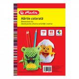 Cumpara ieftin Top hartie colorata, Herlitz, A4, 100 coli, 80 g