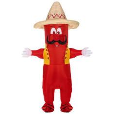 Costum ardei iute mexican gonflabil