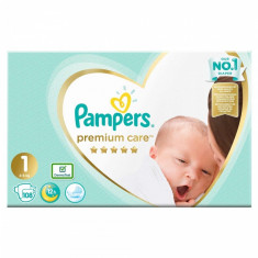 Scutece Pampers Premium Care 1 New Baby Jumbo Pack, 108 buc/pachet