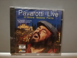 PAVAROTTI - LIVE IN MODENA (1994/DECCA/Germany) - CD ORIGINAL/Sigilat/Nou