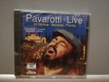 PAVAROTTI - LIVE IN MODENA (1994/DECCA/Germany) - CD ORIGINAL/Sigilat/Nou, decca classics
