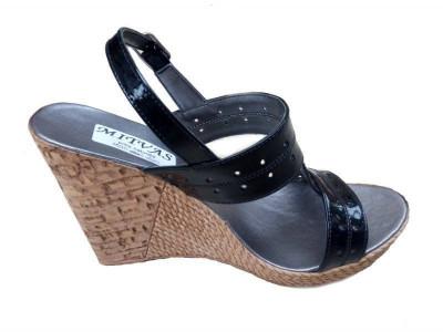 Sandale dama din piele naturala cu platforma S300NLAC foto