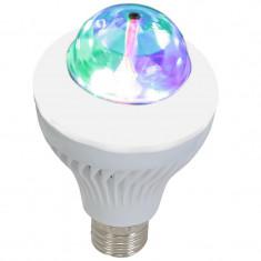 Bec LED E27 RGB Ibiza cu telecomanda