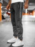 Pantaloni de trening grafit Bolf JX9502