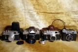 Aparate foto Zorki 4. Zenit – E. Smena 8. Blitz Norma FIL 46.