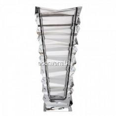 Vaza Cristal de Bohemia Colectia Rocky, 30cm