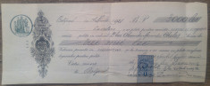 Cambie cu traducere din rusa a notarului public// Bolgrad, 1921 foto
