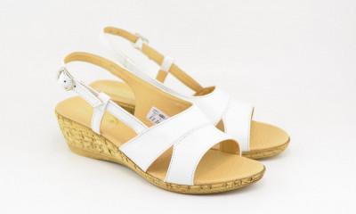 Sandale dama din piele naturala cu platforma - ELIONS2A foto