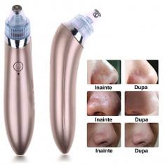 Aparat cu vacuum pentru curatarea tenului, acnee, puncte negre, riduri
