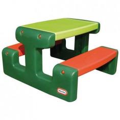 Masuta junior pentru picnic Little Tikes Verde, Multicolor