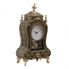Ceas de masa Vintage Gold 33 cm