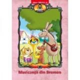 Muzicantii Din Bremen. Carte de Colorat   Serban Andreescu