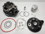 Kit Cilindru Set Motor + Chiuloasa Scuter Yamaha Minarelli AM6 80cc - 47mm
