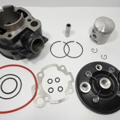 Kit Cilindru - Set Motor + Chiuloasa Scuter Rieju SPIKE 80cc - 47mm - 2 Segmenti