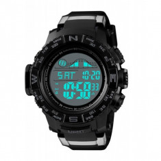 Ceas Skmei Sport/Militar,Rezistent Apa 5 ATM,Alarma,Timer,Background Iluminat