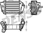 Intercooler, compresor AUDI A4 2.5D 11.00-12.05, DIT02005