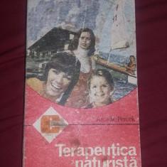 carte veche-TERAPIA NATURISTA-ARCADIE PERCEK-CALEIDOSCOP-1987,Int.Stare FB,T.GRA