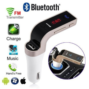 Modulator FM Car Kit auto G7 cu bluetooth