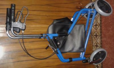 carut ajutator de  mers ptr persoane cu handicap foto