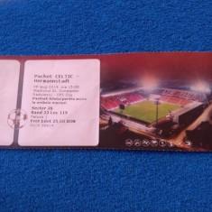 Bilet meci fotbal CFR 1907 CLUJ-CELTIC GLASGOW si HERMANNSTADT (07.08.2019)