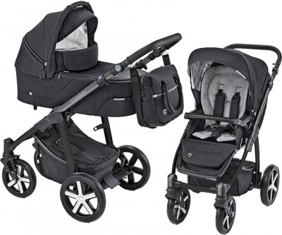 Carucior Multifunctional Baby Design Husky 10 Black 2019 (winter pack) foto