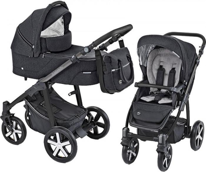 Carucior Multifunctional Baby Design Husky 10 Black 2019 (winter pack)