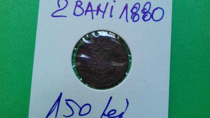 Moneda 2 Bani 1880