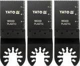 Set de 3 panze HCS 34 mm pentru unealta multifunctionala YT-82220 YATO