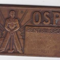 Placheta OSP 1948 CGM Predeal