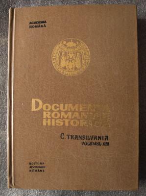 Documenta romaniae historica: C. Transilvania, volumul XIII (1366-1370) foto