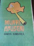 MUNTII APUSENI HARTA TURISTICA TD